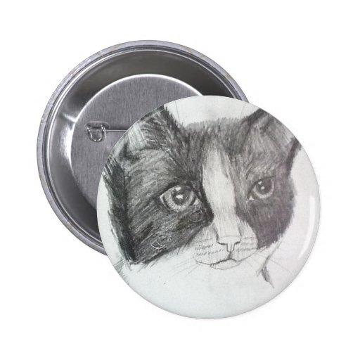 Gato curioso pins