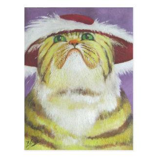 gato cursi tarjetas postales
