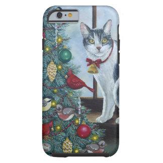 Gato de 0417 navidad funda resistente iPhone 6