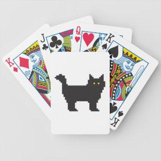 gato de 8 bits cartas de juego