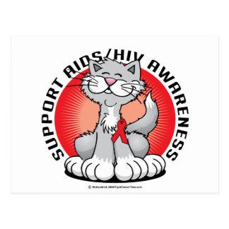 Gato de AIDS/HIV Postales