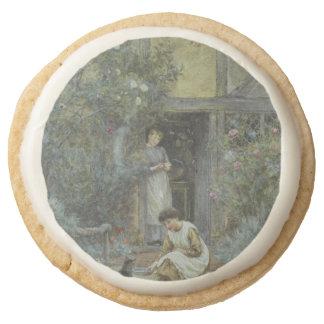 Gato de alimentación un cuenco de crema