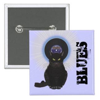 Gato de azules pin cuadrada 5 cm