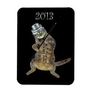 Gato de baile del Año Nuevo Iman