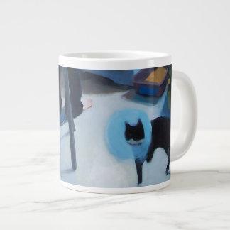 Gato de Betsy en taza del cono Taza Grande