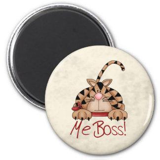 Gato de Boss Imanes Para Frigoríficos