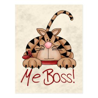 Gato de Boss Tarjetas Postales