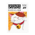 Gato de calicó afortunado lindo de Maneki Neko - Sellos