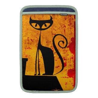 Gato de casa fundas macbook air