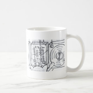 Gato de casa para las mujeres taza de café