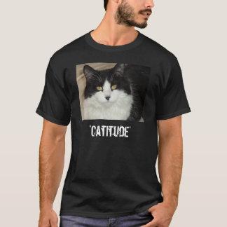 Gato de Catitude con una actitud Playera