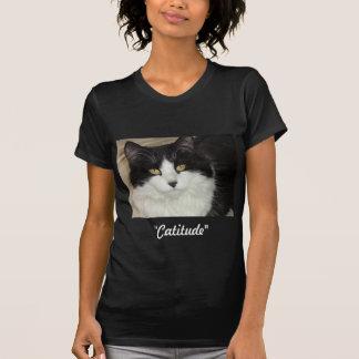 Gato de Catitude con una actitud Playeras