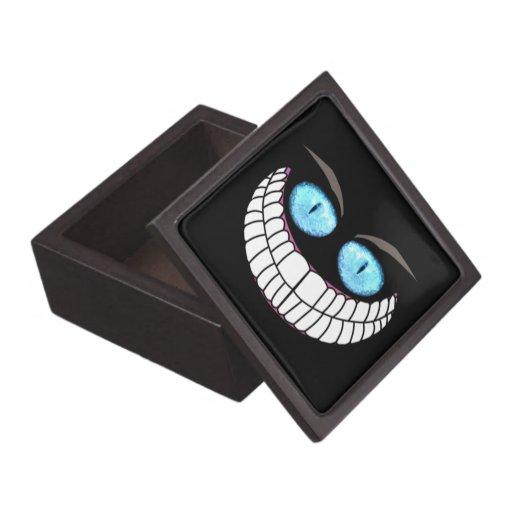 Gato de Cheshire - caja de regalo superior de los  Cajas De Joyas De Calidad
