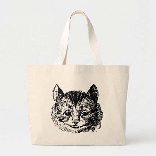 Gato de Cheshire de Alicia en el país de las marav Bolsas De Mano