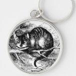 Gato de Cheshire de Lewis Carroll Llavero Personalizado