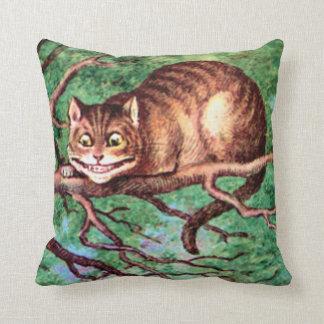 Gato de Cheshire en el país de las maravillas Cojín