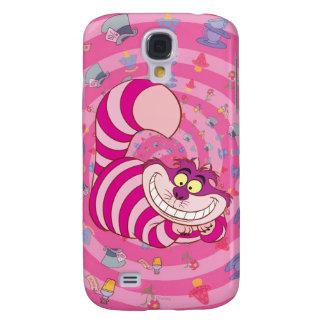 Gato de Cheshire Funda Para Galaxy S4