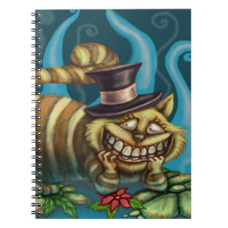 Gato de Cheshire Libro De Apuntes