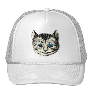 Gato de Cheshire - vintage Alicia en el país de la Gorras De Camionero