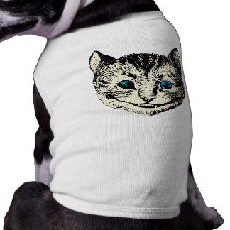 Gato de Cheshire - vintage Alicia en el país de la Camisa De Mascota