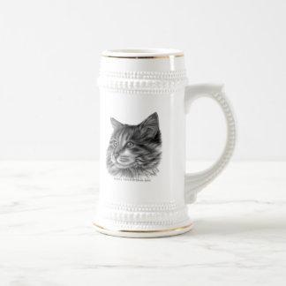 Gato de Coon de Maine Taza