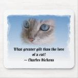 Gato de Dickens Alfombrilla De Raton