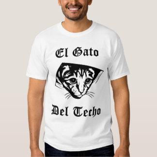 Gato de El Gato Del Techo Ceiling Polera