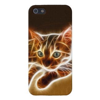 Gato de Fractalius Bengala iPhone 5 Carcasa