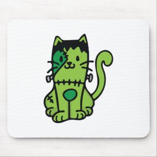Gato de Frankenstein Mousepad