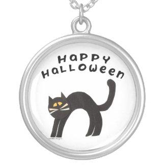 Gato de Halloween Colgante