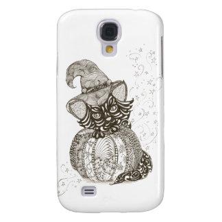 Gato de Halloween Funda Para Galaxy S4
