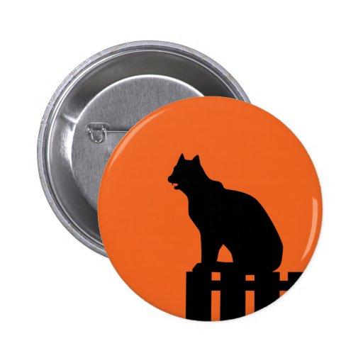 Gato de Halloween Pins