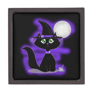 Gato de Halloween y ratón del juguete Caja De Regalo De Calidad