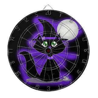 Gato de Halloween y ratón del juguete Tabla Dardos
