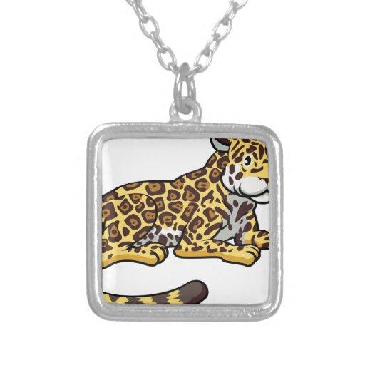 Gato de Jaguar del dibujo animado Joyeria Personalizada
