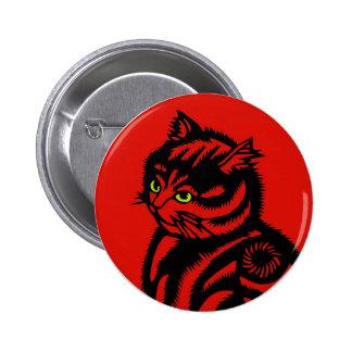 Gato de Katagami Pin