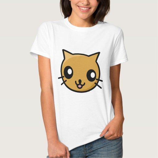Gato de Kawaii Camisas
