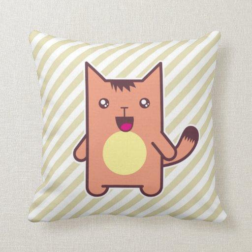 Gato de Kawaii Cojin