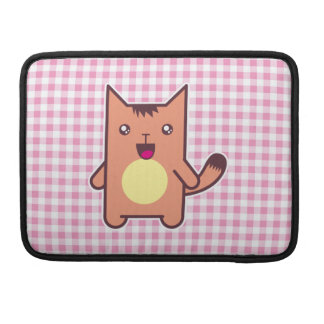 Gato de Kawaii Funda Para Macbook Pro