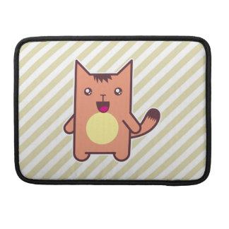 Gato de Kawaii Funda Para Macbooks