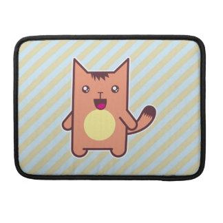 Gato de Kawaii Fundas Para Macbooks