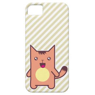 Gato de Kawaii iPhone 5 Protector