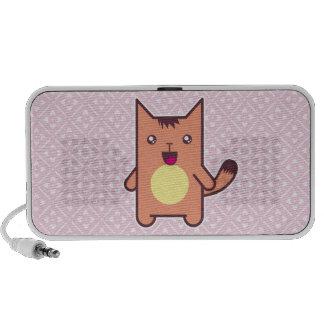 Gato de Kawaii iPhone Altavoces