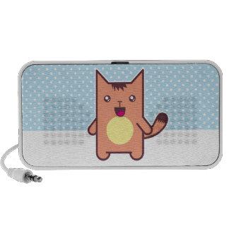 Gato de Kawaii Laptop Altavoz