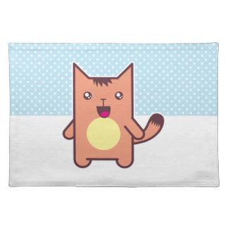Gato de Kawaii Mantel