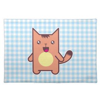 Gato de Kawaii Manteles