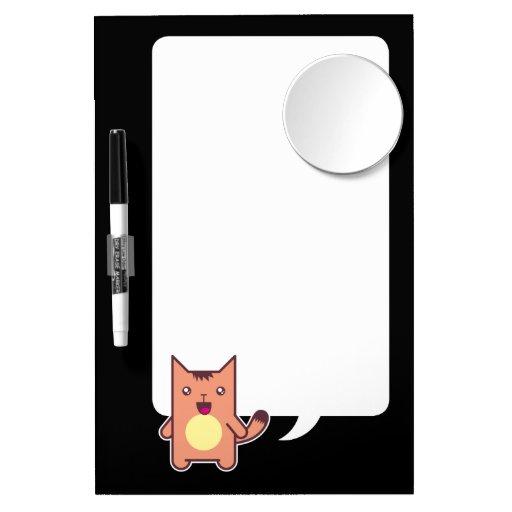 Gato de Kawaii Pizarras