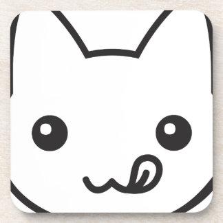 Gato de Kawaii Posavasos