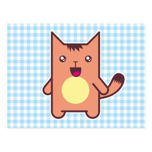 Gato de Kawaii Postal