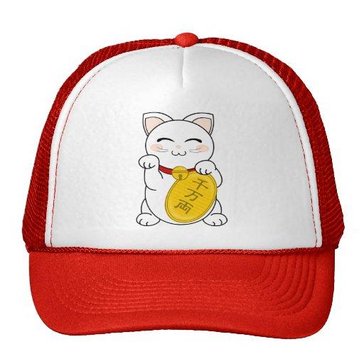 Gato de la buena fortuna - Maneki Neko Gorra